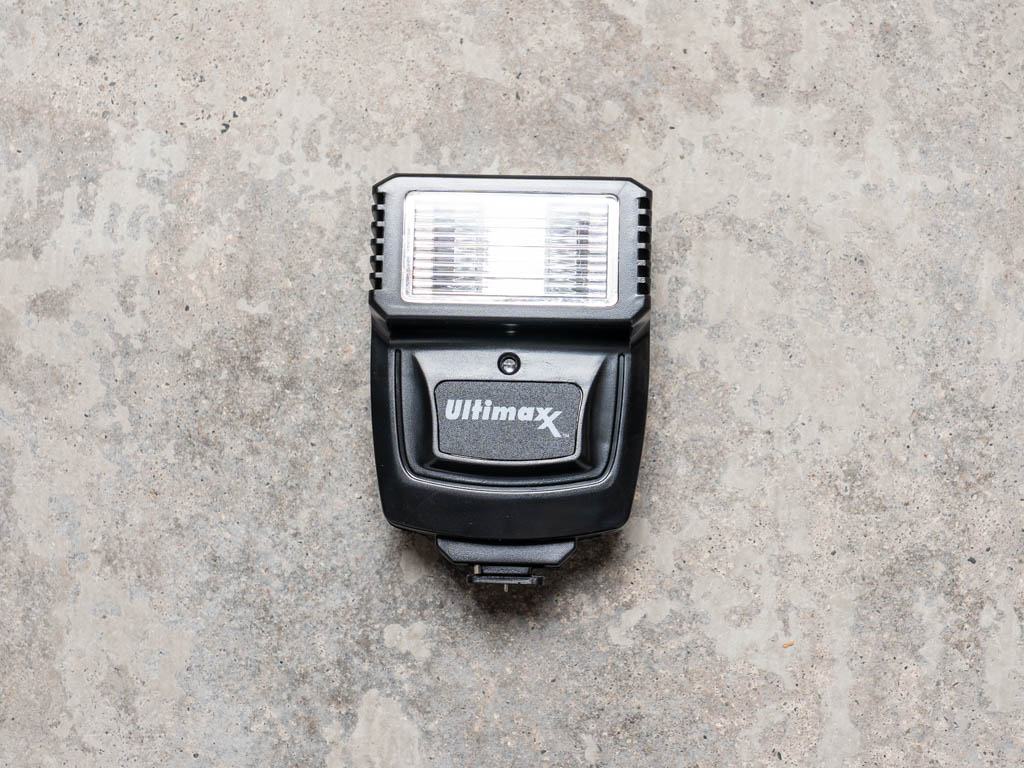 A photo of the Ultimaxx slave flash unit