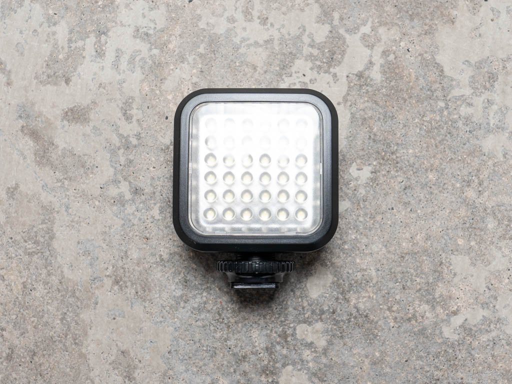A photo of the Ultimaxx LED video light