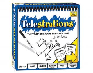 image of the Telestrations game box