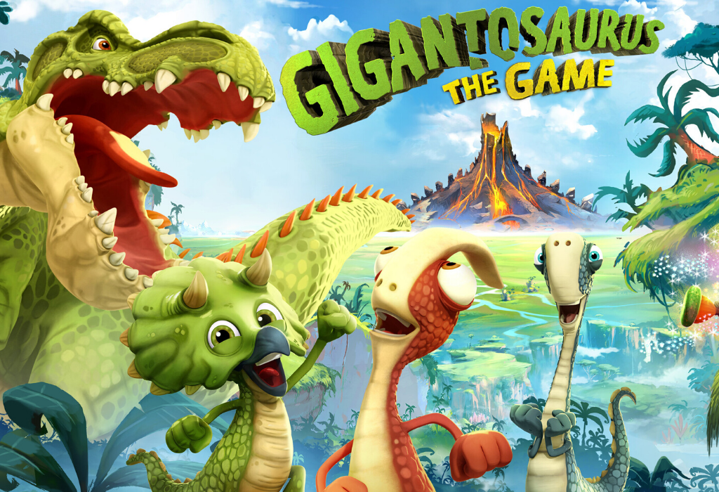 Gigantosaurus The Game Banner