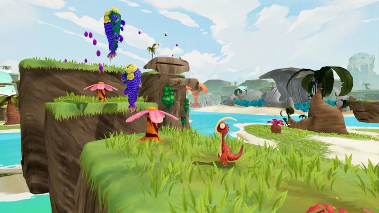 Gigantosaurus The Game gameplay