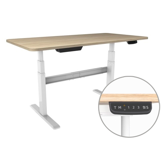 How to be efficient in a home office sit stand desk
