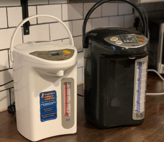 Tiger and Zojirushi water boiler and warmer review