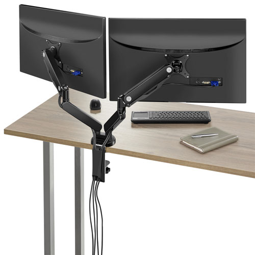 Work from home monitor arm