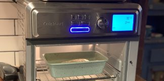 Baking bread Cuisinart AirFryer