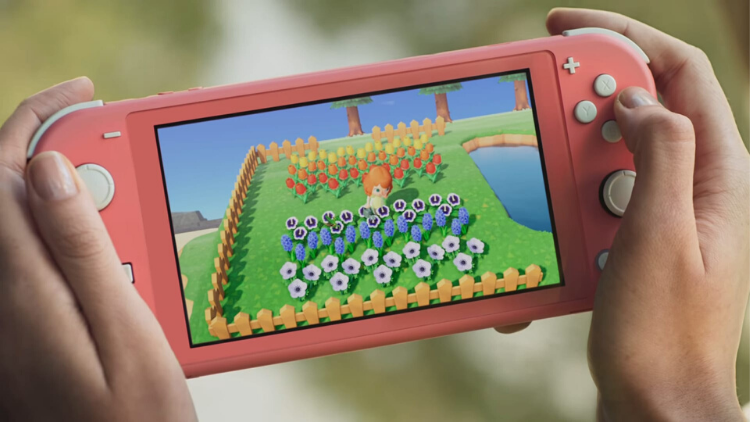 Mothers Day Nintendo Switch Lite Coral