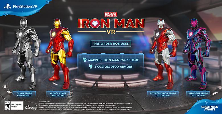 PlayStation VR Marvel's Iron Man VR