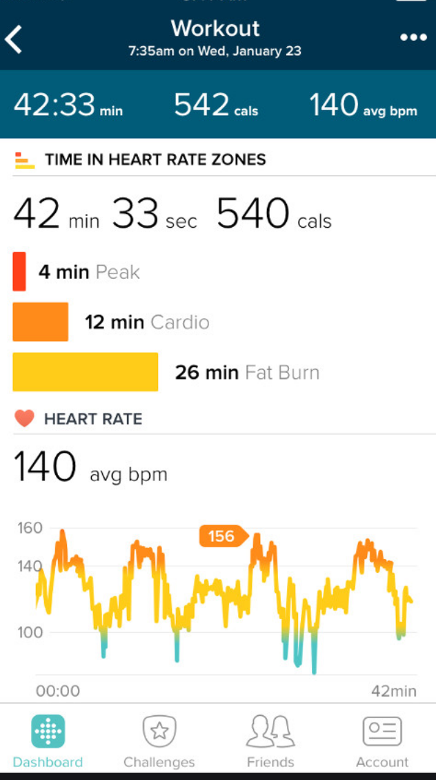 Fitbit data