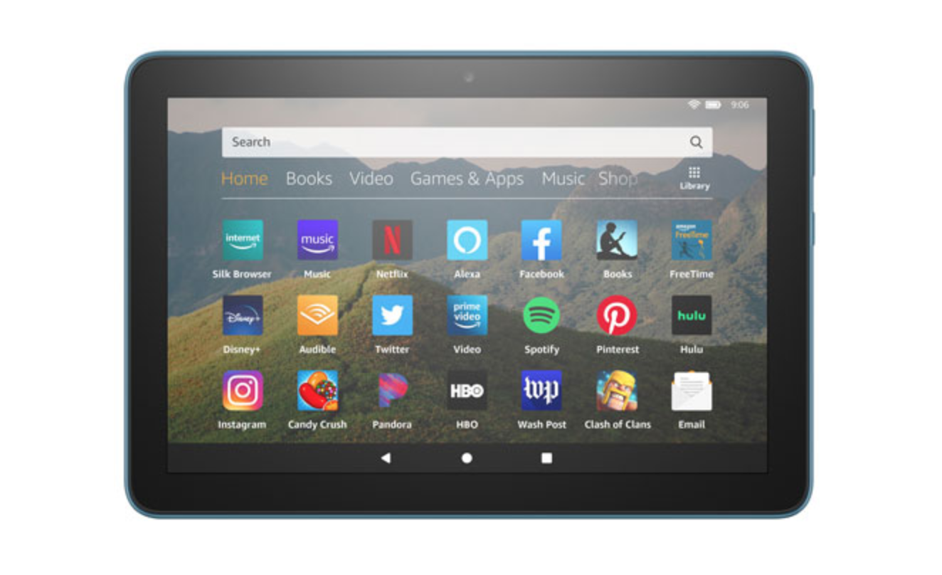 """image of the 8"""" Amazon Fire Tablet"""