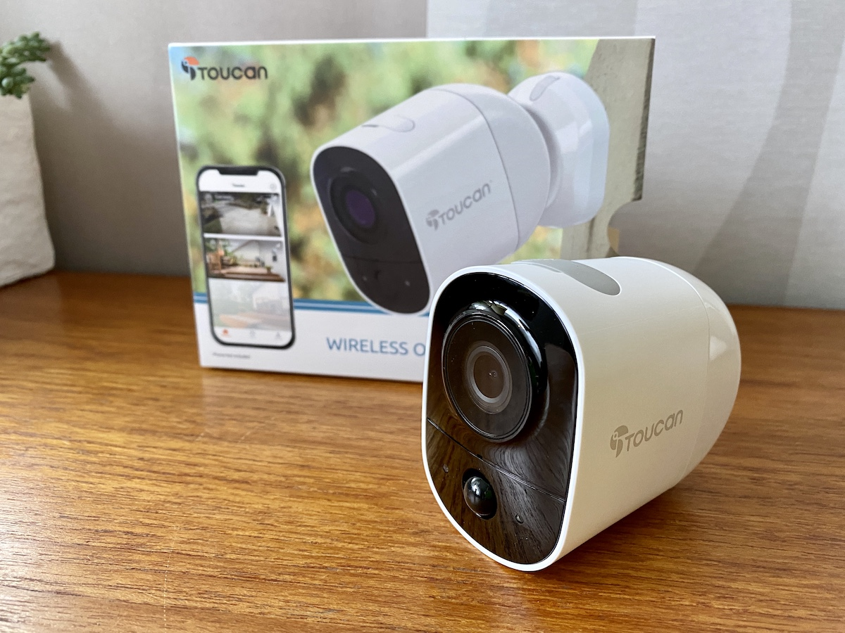 toucan smart home, camera, doorbell
