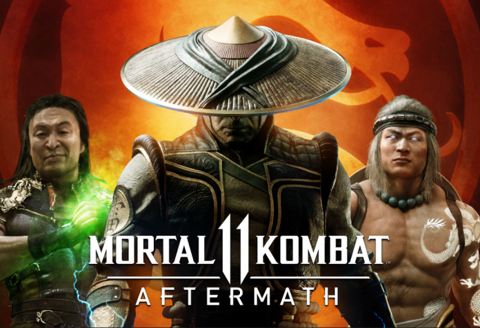 Mortal Kombat 11 Aftermath banner