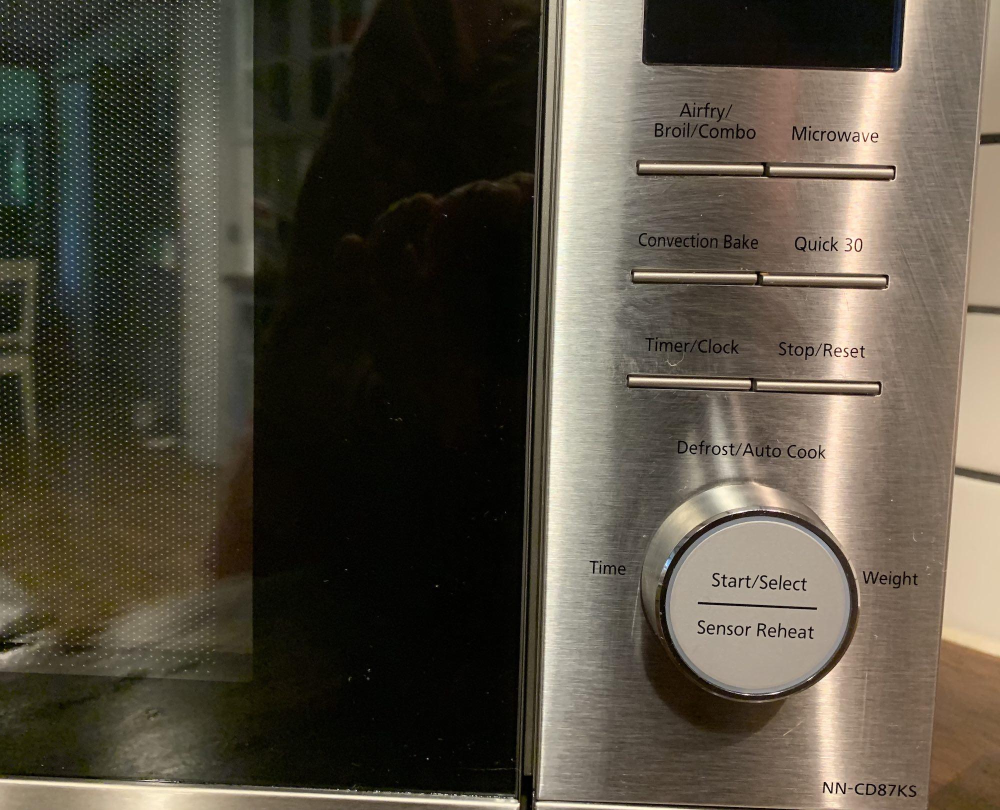 Panasonic Genius 4-in-1 microwave