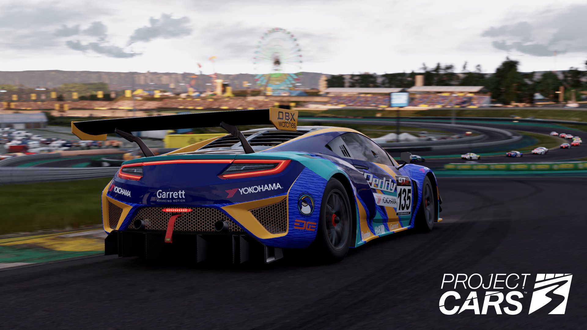 Project Cars 3 festival