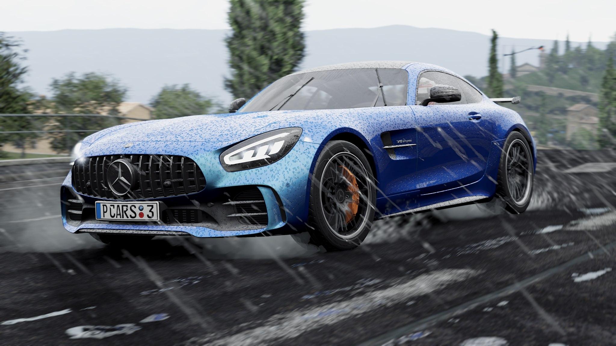 Project Cars 3 rain