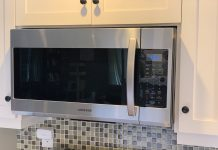 Samsung over-range microwave review
