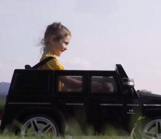 image of outdoor toy Mercedes benz Kool Kar