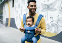 Ergobaby Omni 360 four position baby carrier