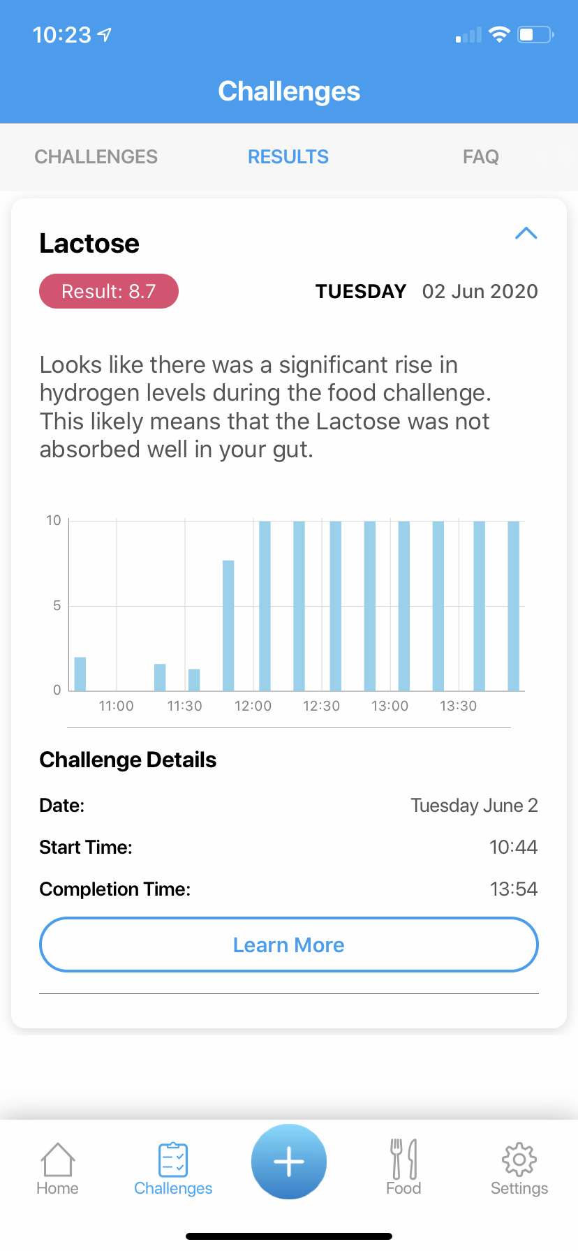 foodmarble aire challenge results