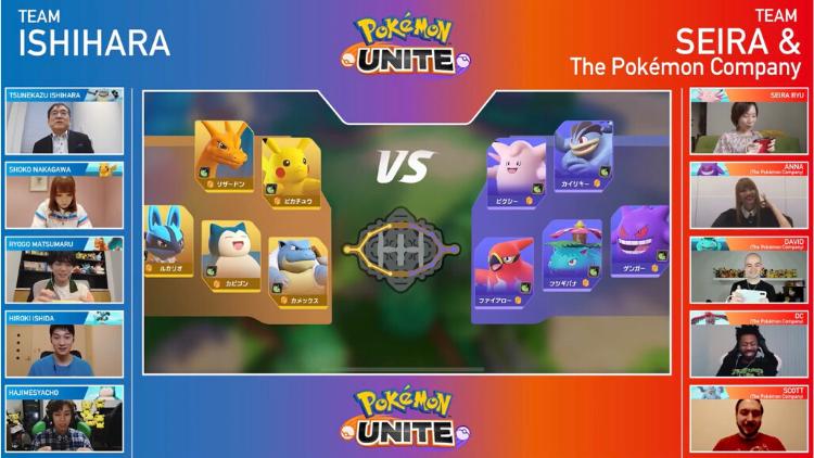 pokemon unite trainers
