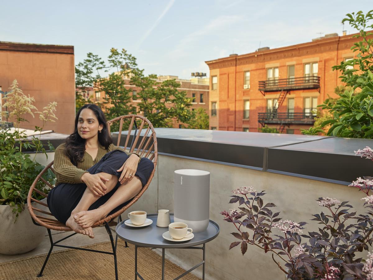 Sonos Move outdoors