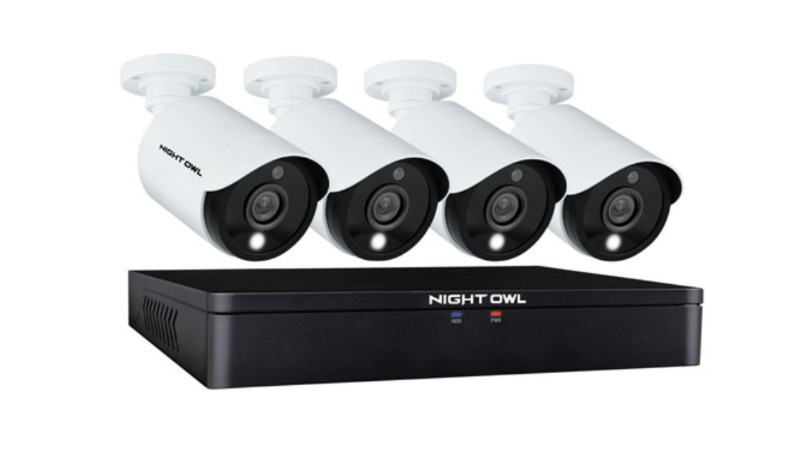 Image of a Night Owl 4-camera security system