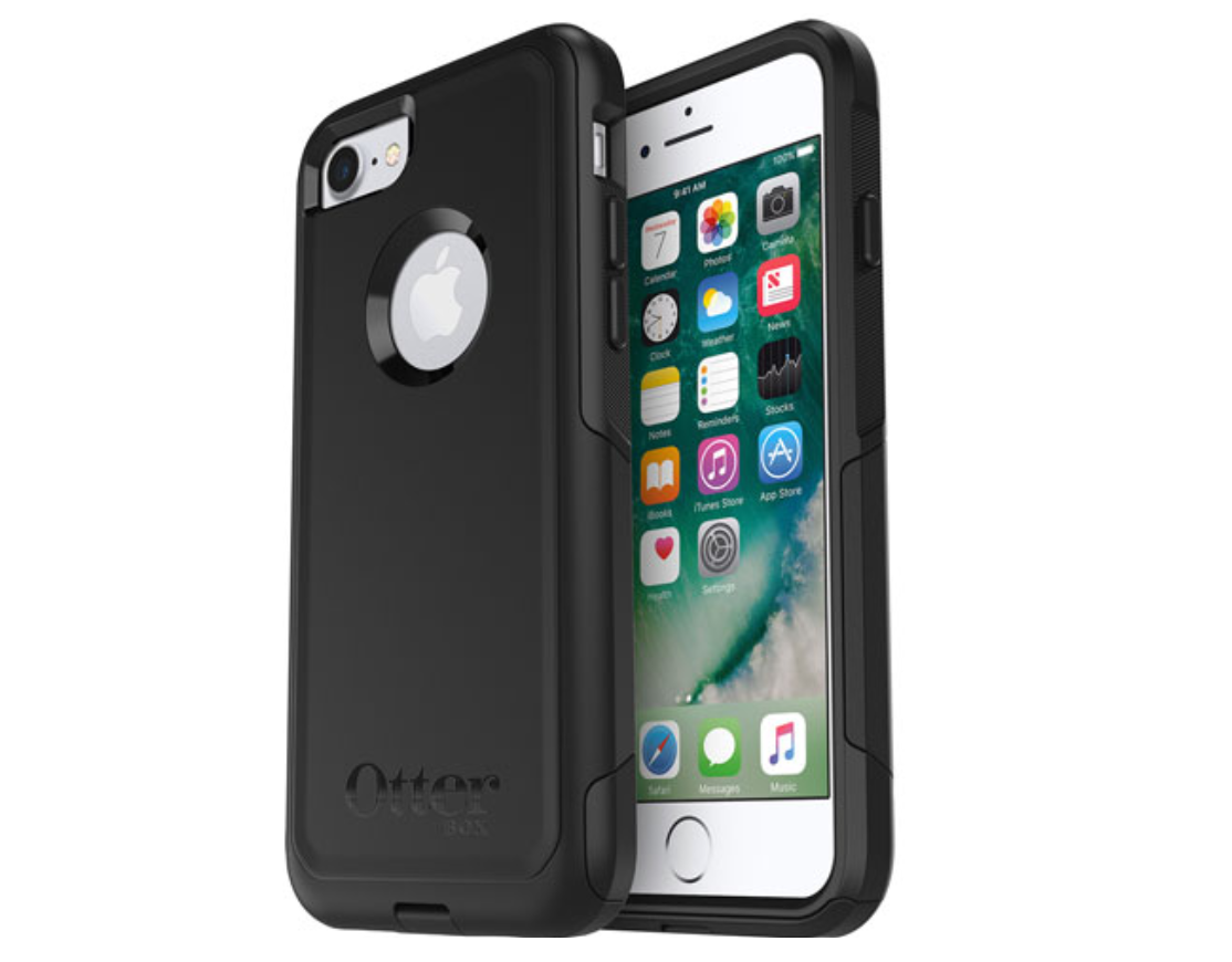 image of an iPhone in a case shown from both sides