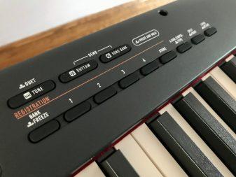CDP-S350 has plenty of rhythms for accompaniment