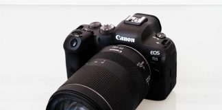 A photo of the Canon R6