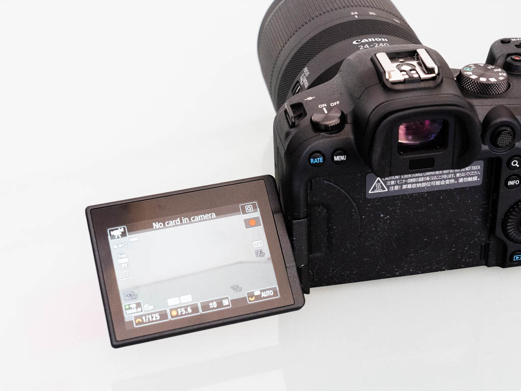 A photo of the Canon EOS R6