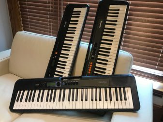 Three keyboards from the Casiotone Series