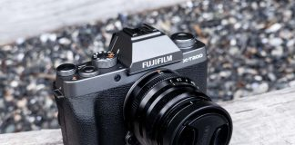 A photo of the Fujifilm X-T200