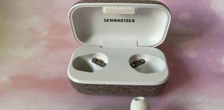 Sennheiser Momentum 2 , truly wireless, review, earbuds, headphones