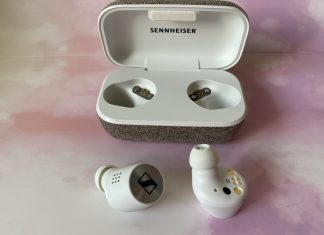 Sennheiser Momentum 2 , truly wireless, review, earbuds, headphones