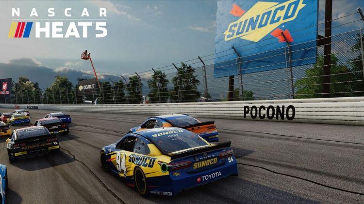 NASCAR visuals