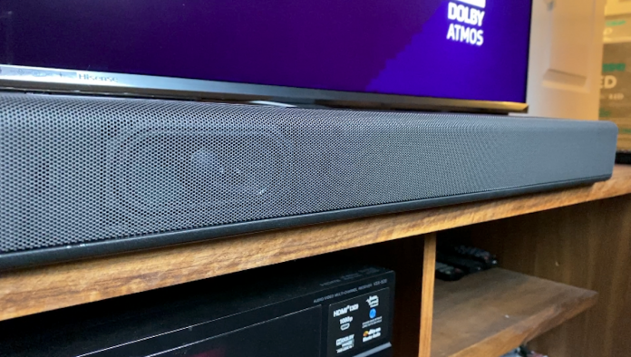 Sony HT-G700 sound bar, subwoofer, review