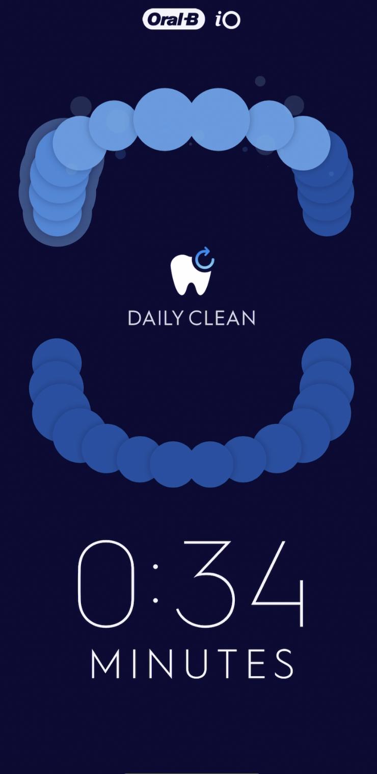 Oral-B app coaching