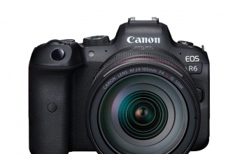A photo of the Sony EOS R6