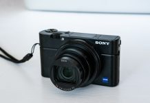 A photo of the Sony RX100 VII