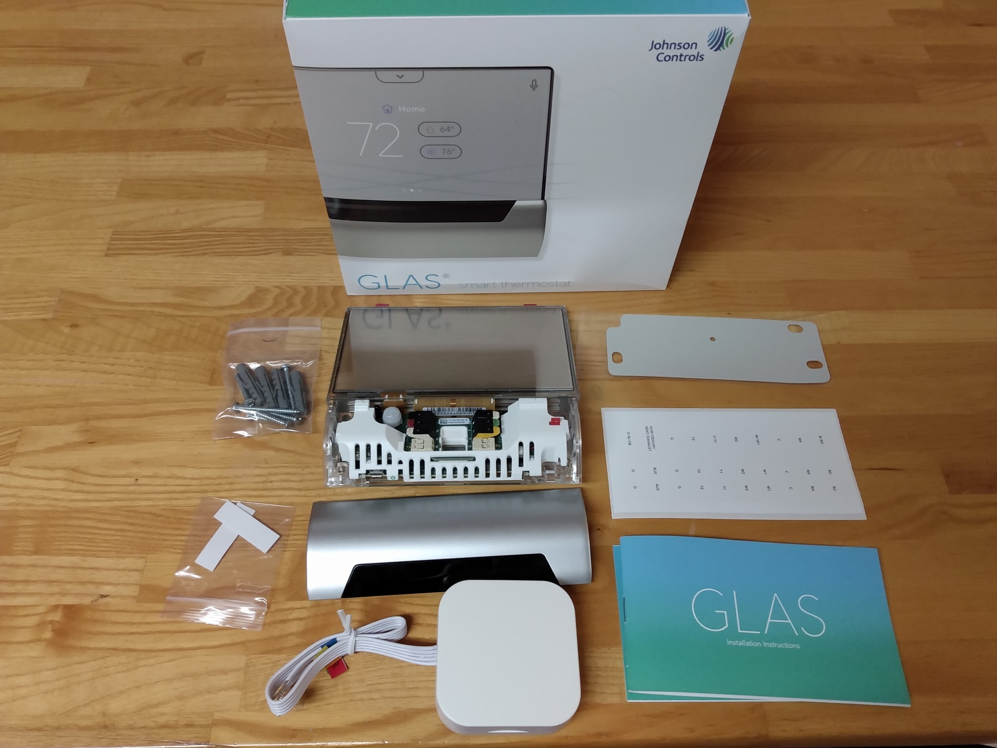 GLAS unbox