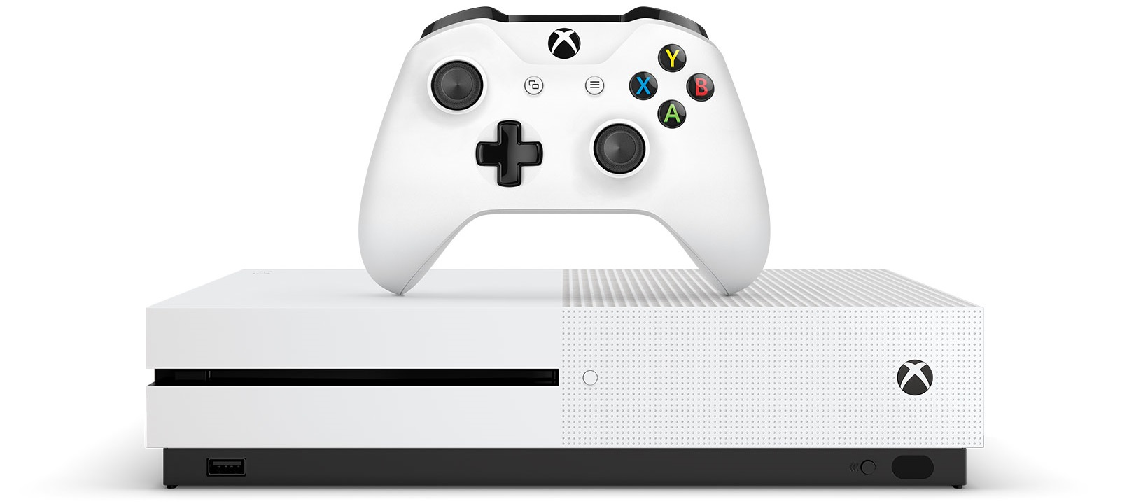 image of the Xbox One and controller