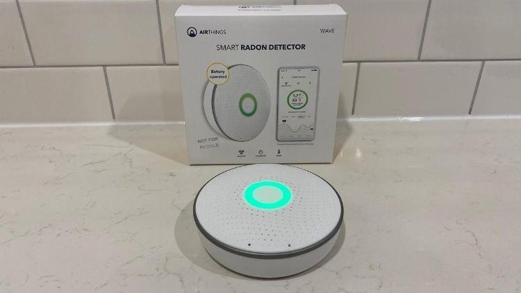 Airthings House Kit Smart Radon Detector Centred