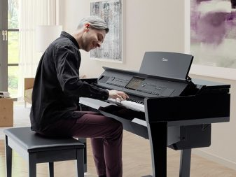 High end digital piano