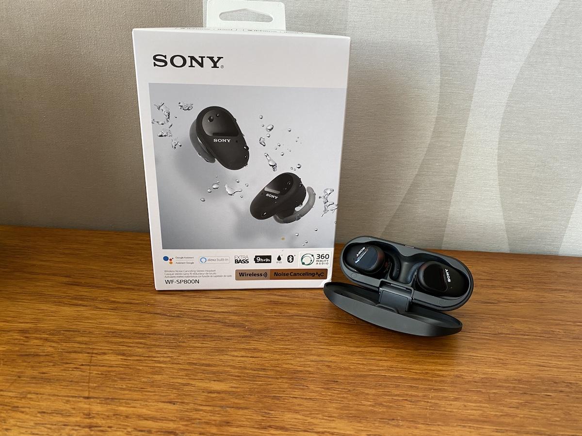 sony Sony WF-SP800N, review