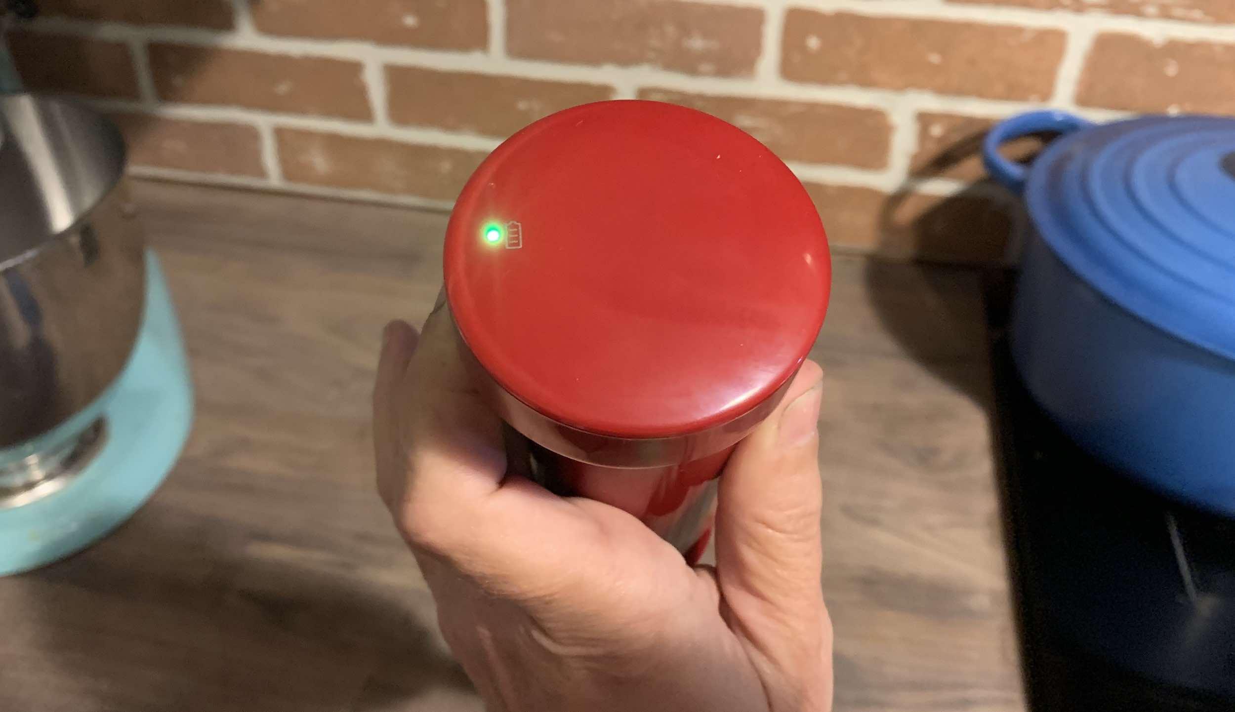 KitchenAid Cordless Immersion Blender Battery Light