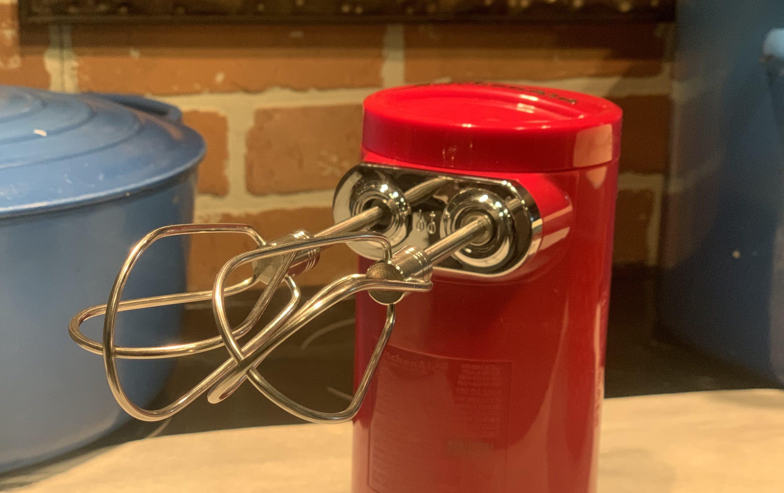 KitchenAid Cordless hand mixer beaters
