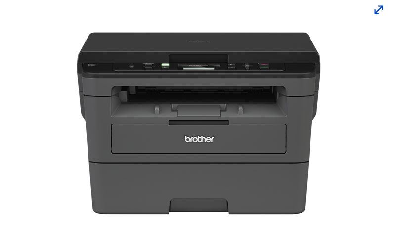 A photo of the Brother HL-L2390D monochrome printer