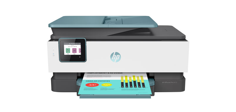 A photo of the HP OfficeJet Pro 8035