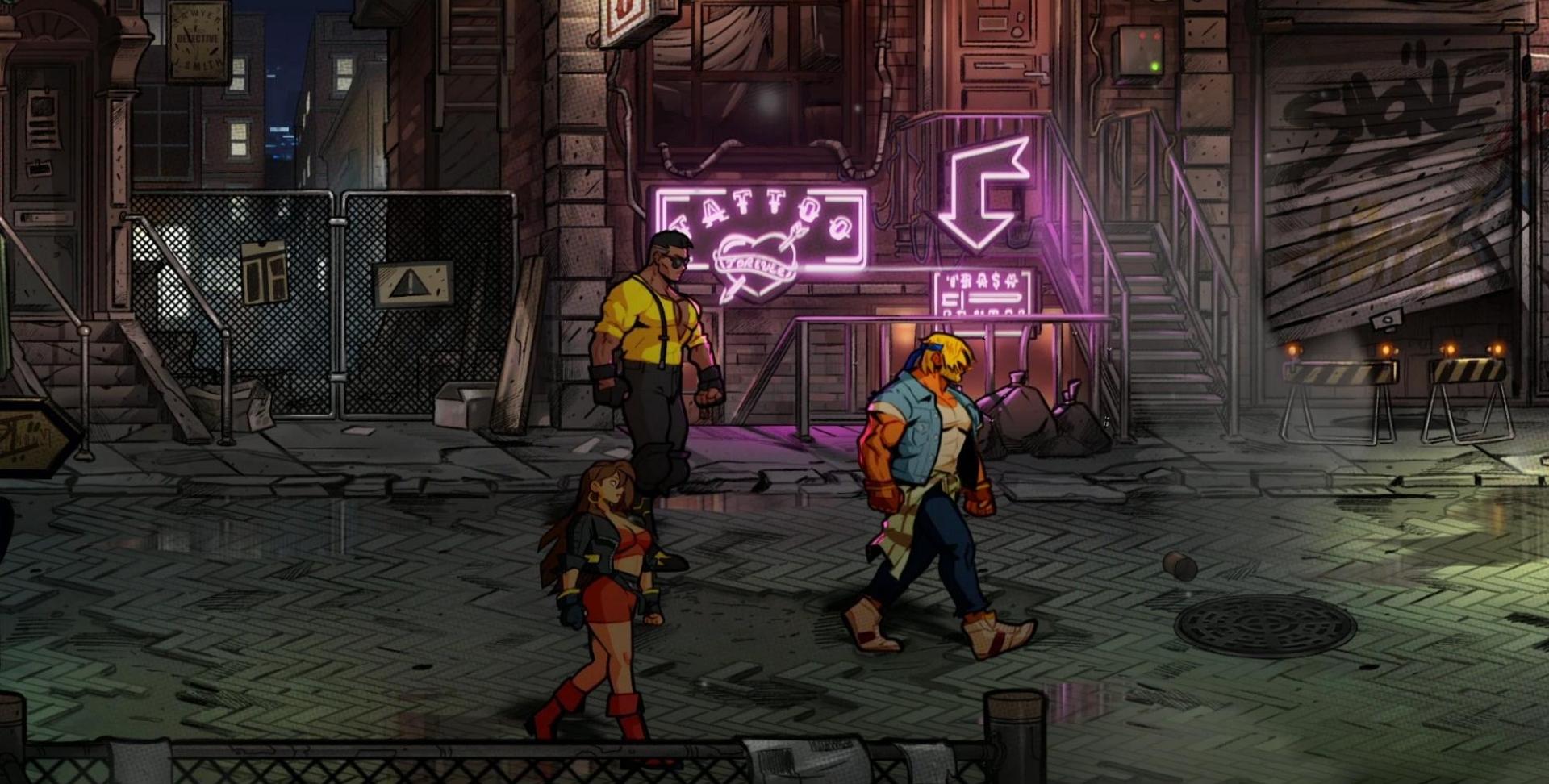Streets of Rage 4 Start