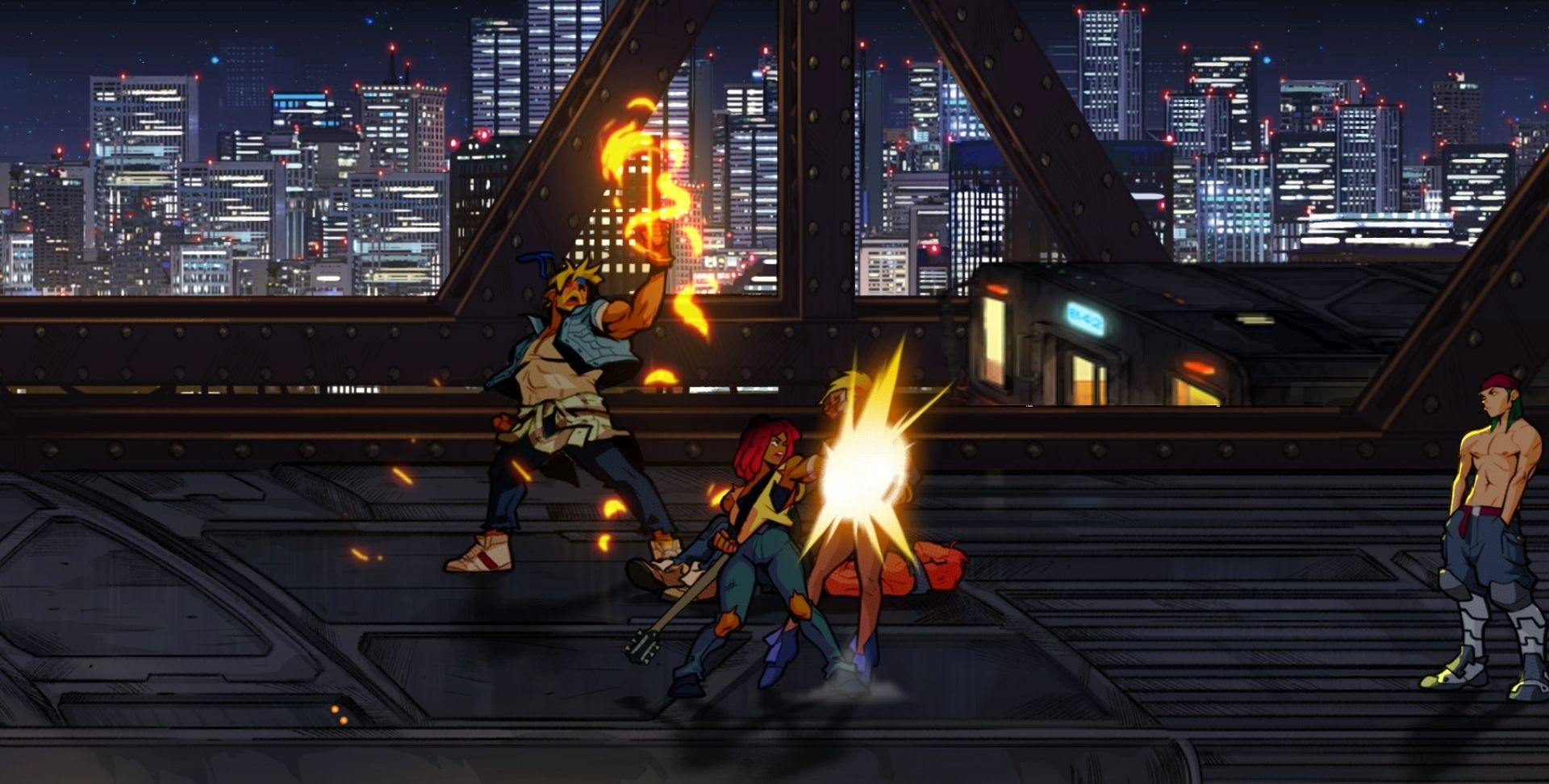 Streets of Rage New Characters