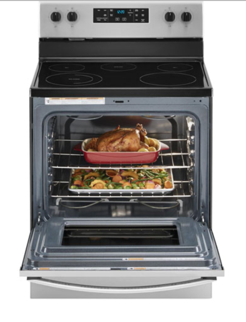 reheating food in oven
